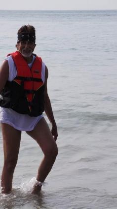 Amitabh Bachchan's New Year Vacation in Goa