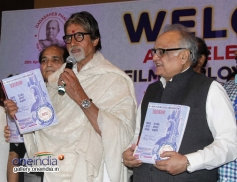 Amitabh Bachchan at the All India Film Employees Confederation event