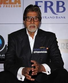 Amitabh Bachchan at the premiere of Mandela Long Walk to Freedom