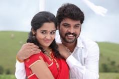 Ananya and Vimal still from film Pulivaal