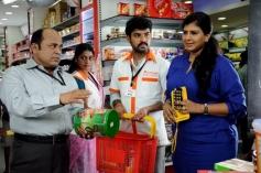 Ananya, Vimal and Swarnamalya still from film Pulivaal