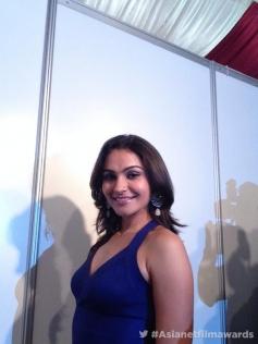 Andrea Jeremiah at the Asianet Film Awards 2014