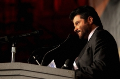 Anil Kapoor speaks during the IIFA Press conference 2014