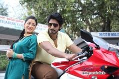 Ankitha Maheshwari and Prajwal Devaraj in Kannada Movie Nee Naade Naa