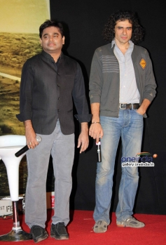 AR Rahman and Imtiaz Ali during the Highway film media interaction
