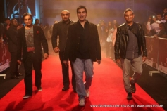 Arbaaz Khan arrives during the Jai Ho film premiere at Dubai