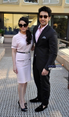 Ariana Ayam and Adhyayan Suman during their film Heartless promotion