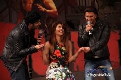 Arjun and Ranveer proposes Priyanka Chopra at the music launch of film Gunday