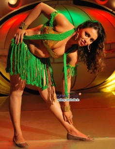 Ayesha in Kannada Film Nakara