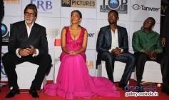 BIG B, Terry Pheto, Atandwa Kani and Fana Mokoena at the premiere of Mandela Long Walk to Freedom