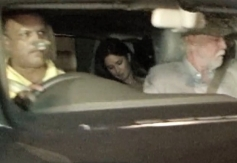 Katrina Kaif arrives at Dhoom 3 success party