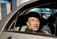 Anu Malik arrives at Dhoom 3 success party