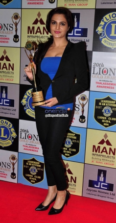 Celebs during the 20th Lions Gold Awards 2014