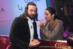 Celebs during the Jai Ho film premiere at Dubai