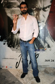 Ashmit Patel during the Jai Ho film promotion at Mehboob Studio Bandra