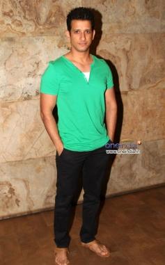 Sharman Joshi during the special screening of film Mr Joe B Carvalho