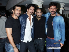 Celebs snapped at a bar launch