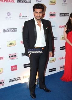 Arjun Kapoor at the Filmfare Pre Awards Nominations Party 2014