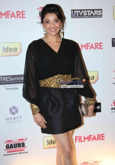 Kajal Aggarwal at the Filmfare Pre Awards Nominations Party 2014