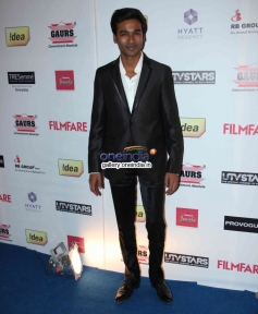 Dhanush at the Filmfare Pre Awards Nominations Party 2014
