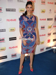 Deepika Padukone at the Filmfare Pre Awards Nominations Party 2014