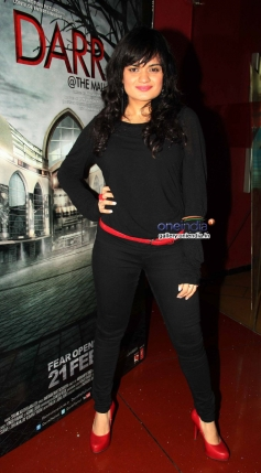 Celebs at the first look of film Darr at The Mall