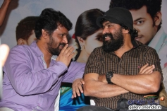 Cheran and Ameer at the film Sogusu Perunthu audio launch