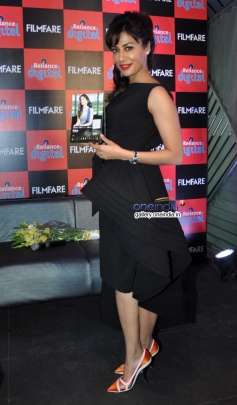 Chitrangada Singh poses during the launch of Filmfare 2014 calendar