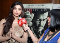 Daisy Shah during the press conference of Jai Ho film at Dubai