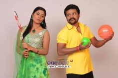 Deepika Das and Soorya Prabhu in Kannada Movie Cycle Gapalli