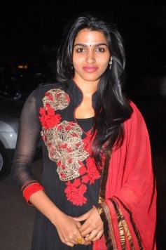 Dhansika at the Alandur Fine Arts Awards
