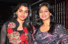 Dhansika and Varsha Ashwati at the Alandur Fine Arts Awards
