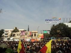 Crowd at Dr Rajkumar's Statue Inauguration