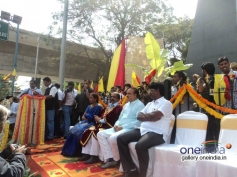 Bangalore South MP Ananth Kumar at Dr Rajkumar's Statue Inauguration