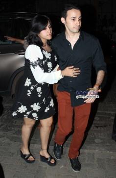 Ekta Kapoor snapped at a bar launch