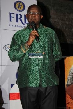 Fana Mokoena at the premiere of Mandela Long Walk to Freedom