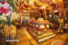 Flower Decoration at Tirumala