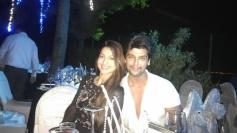 Gauhar Khan and Kushal Tandon celebrates New Year 2014 at Goa