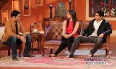 Kapil Sharma conversation with Sidharth and Parineeti on the sets of Comedy Nights with Kapil