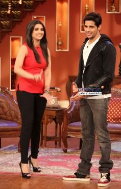 Sidharth Malhotra and Parineeti Chopra promote their film Hasee Toh Phasee