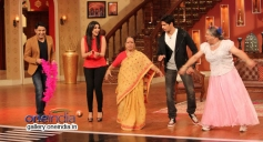 Hasee Toh Phasee film starcast having fun on the sets of Comedy Nights with Kapil