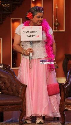 Alia Sagar on the sets of Comedy Nights with Kapil