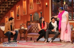 Hasee Toh Phasee film promotion on the sets of Comedy Nights with Kapil