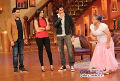 Ali Sagar performing on the sets of Comedy Nights with Kapil