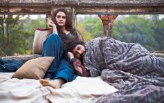 Huma Qureshi and Arshad Warsi still from film Dedh Ishqiya