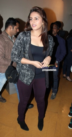 Huma Qureshi during the special screening of American Hustle