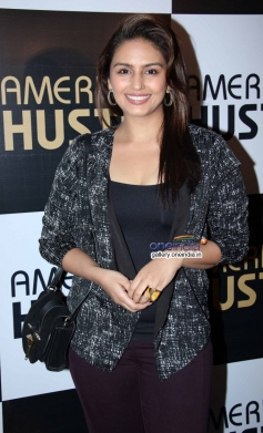 Huma Qureshi at the special screening of American Hustle