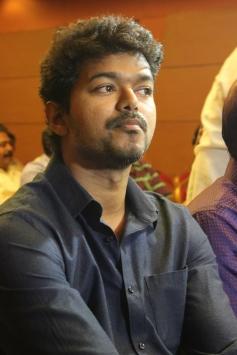 Ilayathalapathy Vijay at the Jilla film success meet