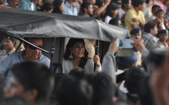 Jacqueline Fernandez at Republic Day Parade