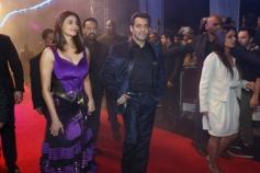 Jai Ho Film stars Salman Khan and Daisy Shah at Dubai